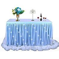 1d0247655 CHOLLOS 】➽ Precios rebajados en faldones de mesa para fiestas ...