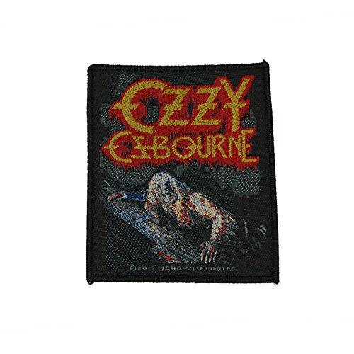 Preisvergleich Produktbild Ozzy Osbourne Aufnäher - Bark At The Moon - Ozzy Osbourne Patch - Gewebt & Lizenziert !!