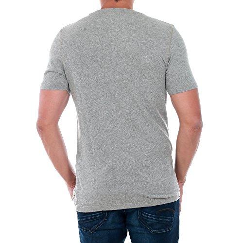 Jack & Jones Herren T-Shirt Grau (light grey melange)
