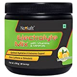 NOVKAFIT Electrolyte Powder Mix with Vitamins & Minerals (Lemon Flavour) 270 g