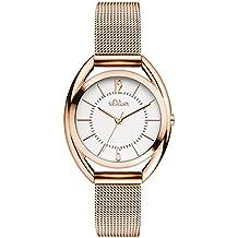 s.Oliver Time Damen-Armbanduhr SO-3324-MQ