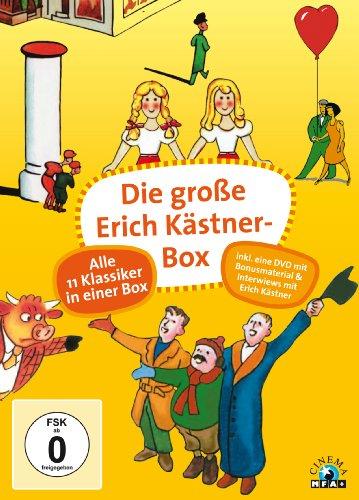 Bild von Die große Erich Kästner-Box [12 DVDs]