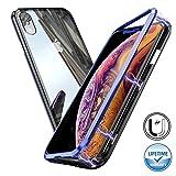 Haobuy Coque Magnétique Adsorption pour iPhone XS Max [Protection Intégrale 360]...