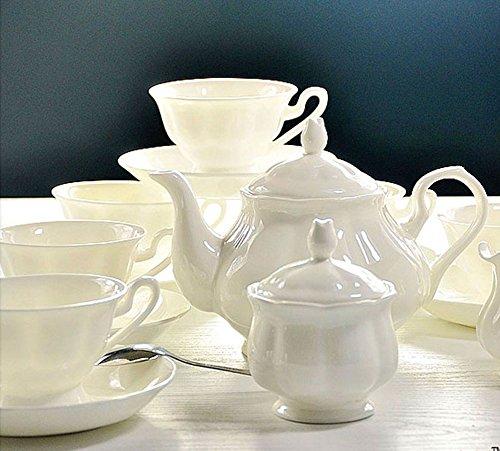 ufengke® Inglese bianco Ceramica 15 Pezzo Servizio da tè servizio