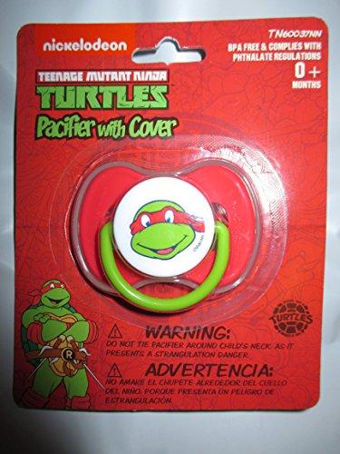 teenage-mutant-ninja-turtles-raphael-bebe-chupete-con-cubierta