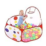 Westeng Piscina de Bolas Polka Dot Hexagonales Juguetes del Bebé para los Niños plegado fácil Portátil(Sin Bolas),1.5m