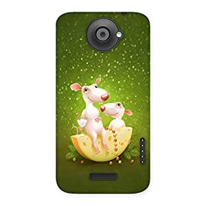 NEO WORLD Andre Andre Back Case Cover for HTC One X