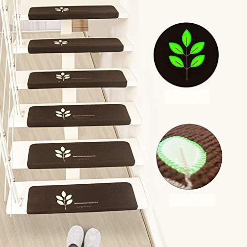 DEEN Rutschfeste Selbstklebende Treppen-Matten Teppich-Abdeckung Treppen-Matte Indoor Treppen-Schutz Moderne Stufenmatten, Stil 8, 5 PCS - Teppich-pad, X 5 8