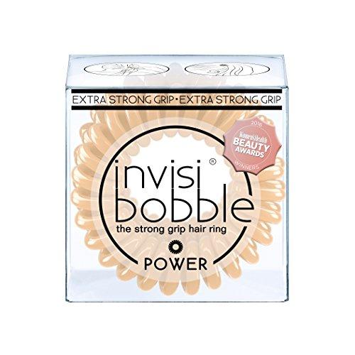 Invisibobble power - elastico per capelli, confezione da 2, colore: naturale/nude