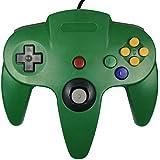 abcGOODefg® Mando a Distancia Control Remoto para Nintendo 64 N64 (Verde)