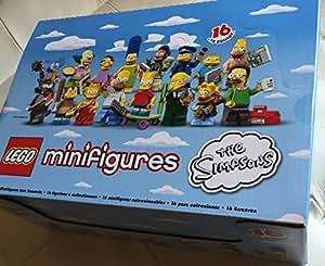 LEGO Minifigures 6059279 - Espositore da 60 Minifigures, Serie Simpson