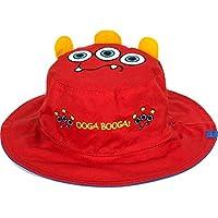 Flapjacks 2in1reversibile per bambini estate hats-monsters-medium