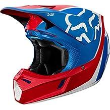 Fox V3 Kila Helmet, ECE Blue/Red
