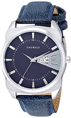 Laurels Analog Blue Dial Men's Watch -Lo-Inc-203