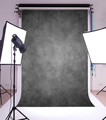 YongFoto 2x3m Vinyl Foto Hintergrund Retro Grau Grunge Fotografie Hintergrund für Fotoshooting Portraitfotos Party Kinder Hochzeit Fotostudio Requisiten