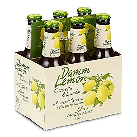 Damm Lemon D L Damm Lemon Pack 6 Botella 25 cl