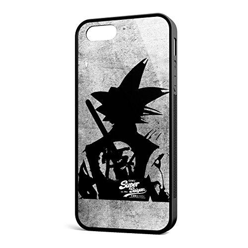 Smartcover Case Fighters Back z.B. für Iphone 5 / 5S, Iphone 6 / 6S, Samsung S6 und S6 EDGE mit griffigem Gummirand und coolem Print, Smartphone Hülle:Iphone 6 / 6S schwarz Iphone 5 / 5S schwarz