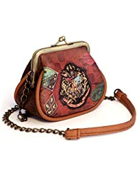 Harry Potter Railway Messenger Bag, 11 cm, Brown (Marrón)