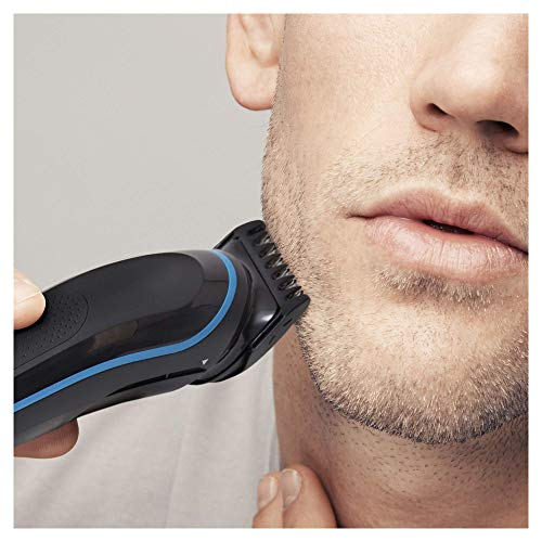 Braun 9 en 1 MGK3085 - Corta Barbas hombre Todo en 1 Recortadora Barba, Depiladora Masculina, Máquina Cortar Pelo, Cortapelos Nariz y Orejas