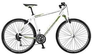 Staiger Daytona Herren Crossrad Modell 2013 - Fahrrad - RH siehe Auswahlfeld - 27-Gang Shimano schwarz/matt oder weiß/apfelgrün