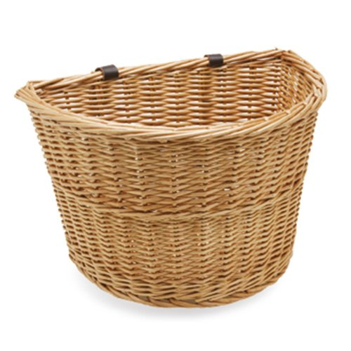 Electra Bicycle Electra Wicker Basket Natural Front Fahrradkorb, 368742 -