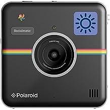 """Polaroid Socialmatic - Cámara instantánea (pantalla de 4.5""""), negro"""