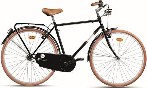 28 Zoll Herren Holland Fahrrad Montana Sport, Farbe:Schwarz