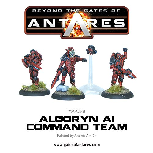 beyond-the-gates-of-antares-starter-set-28mm-minatures-21-infantry-6-battlesuits-12-drones