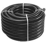 Tubo anellato in PVC per pompe irrigazione 25 mm / 25 metri