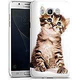 Samsung Galaxy J5 Duos (2016) Hülle Premium Case Schutz Cover Katze Katzenbaby Kätzchen Kitten