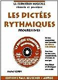 Partition : Dictees rythmiques progressives avec CD