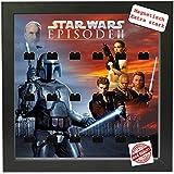 Magnetischer Setzkasten Vitrine Star Wars Episode 2 für LEGO® Minifiguren Pic2