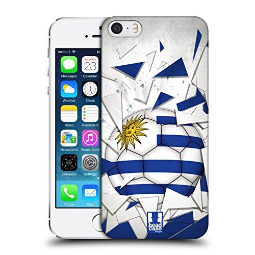 Head Case Designs Algérie Ballon De Football Étui Coque D'Arrière Rigide Pour Apple iPhone 6 / 6s Uruguay