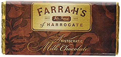 Farrah's of Harrogate Luxury Milk Chocolate Bar 100 g