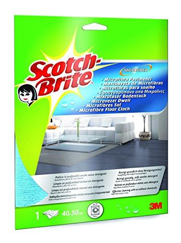 Scotch-Brite 36404 Panno Microfibra Pavimenti, Blu