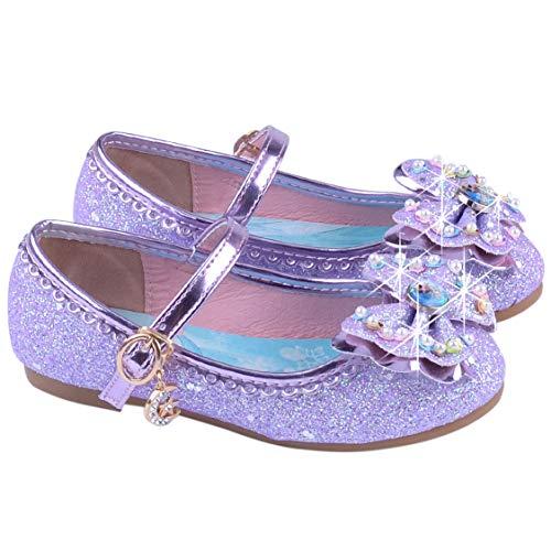 Rapunzel Schuhe - FStory&Winyee Mädchen Prinzessin Schuhe Kinder Elsa