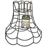 Metropolis Wire Scallop Lamp Shade - Large Love Mothers, used for sale  Delivered anywhere in Ireland