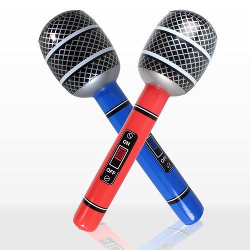 Micrófono hinchable 76,2 cm