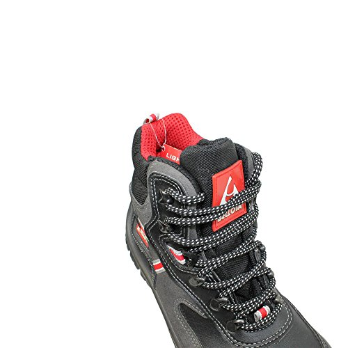 Bellota microfiber s3 sRC chaussures berufsschuhe businessschuhe chaussures de trekking (noir) Noir - Noir