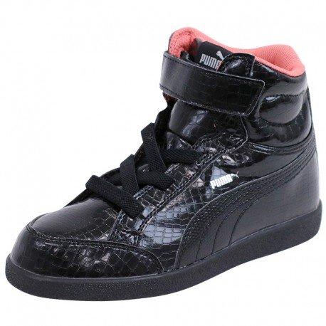 Puma PS PUMA IKAZ MID SRP Chaussures de Mode Enfants Noir
