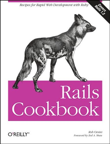 Rails Cookbook (Cookbooks (O'Reilly)) (text only) by R.Orsini