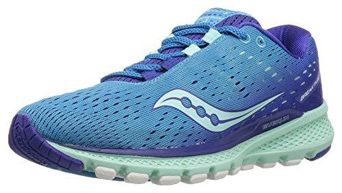 Saucony Women's Breakthru 3 Running Shoe, Blue Mint, 06.0 M US