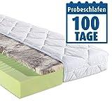ROLLER Gel-Kaltschaummatratze Dream Gel - Aloe Vera - 100x200 cm - H2
