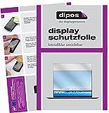 dipos I 2X Schutzfolie klar passend für Huawei MateBook X Pro Folie Bildschirmschutzfolie