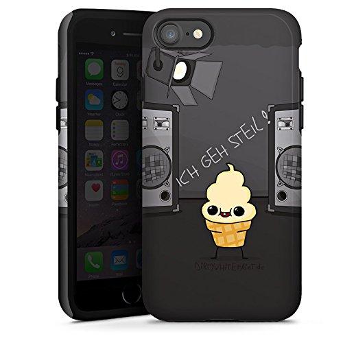 Apple iPhone X Silikon Hülle Case Schutzhülle DirtyWhitePaint Fanartikel Merchandise ICH GEH STEIL Tough Case glänzend