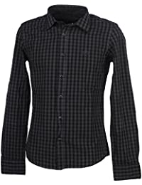 Biaggio - Cancela anth/blk ml shirt - Chemise manches longues
