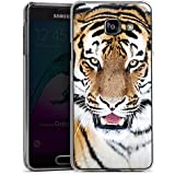 Samsung Galaxy A3 (2016) Housse Étui Protection Coque Tigre Félin Grands félins