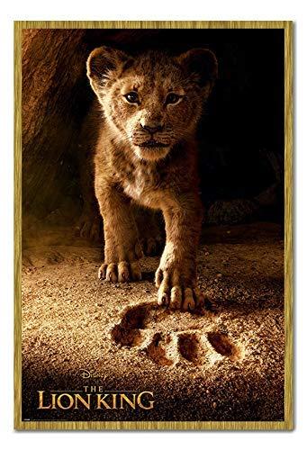 Oak King Poster (Bestrice The Lion King Movie Future King Poster Magnet Pinnwand - Oak)