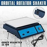 Ambesten Orbital Shaker Variable Geschwindigkeit 0-210 RPM Orbital Shaker Plattform 315 x 218 mm Arbeitsbühne Orbital Rotator Shaker