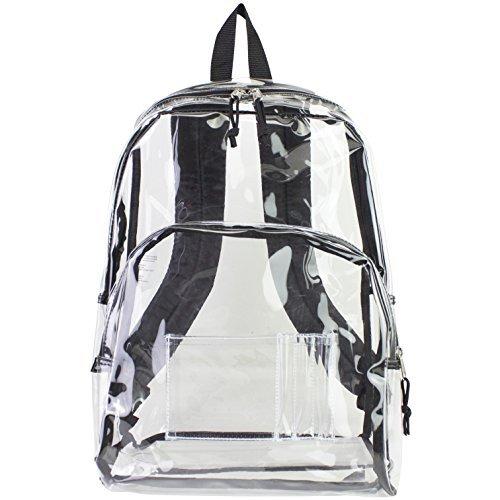 eastsport-44cm-clear-with-black-trim-backpack